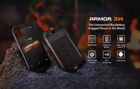 Ulefone Armor 3W - Ulefone Armor 3W Banggood Coupon Promo Code [6+64GB] [Spain Warehouse]
