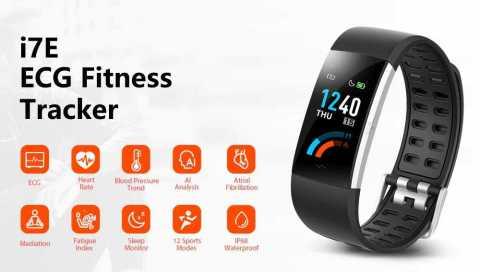 alfawise i7e ecg fitness tracker