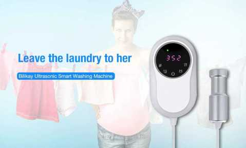 bilikay ultrasonic smart washing machine