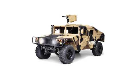 hg p408 1/10 u.s. 4x4 rc military truck
