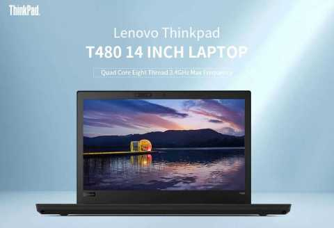 lenovo thinkpad t480 14 inch laptop
