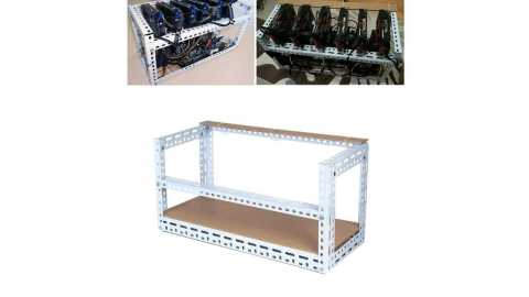 Mining Rig Frame Case for 6 GPU - Steel Crypto Coin Bitcoin Mining Rig Frame Case For 6 GPU Banggood Coupon Code