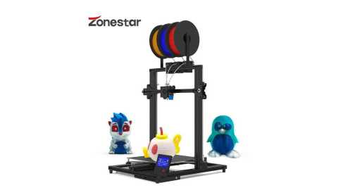 ZONESTAR Z8T - ZONESTAR Z8T 3D Printer Gearbest Coupon Promo Code