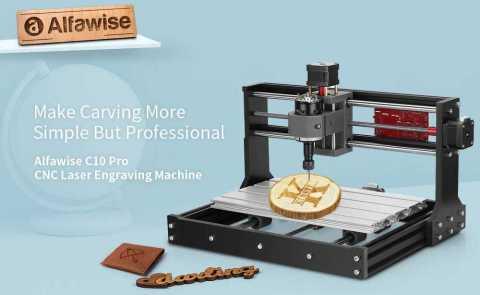 alfawise c10 pro cnc laser engraving machine