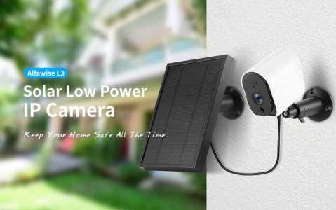 Alfawise L3 Solar IP Camera