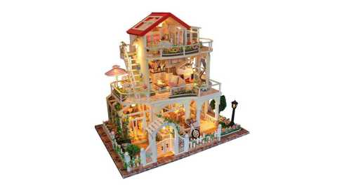 Be Enduring As The Universe DIY Dollhouse - Hoomeda 13845 Be Enduring As The Universe DIY Dollhouse Banggood Coupon Promo Code