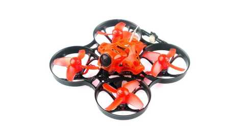 eachine trashcan 2s 75mm brushless whoop racer drone