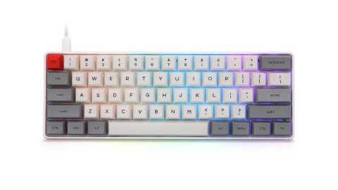 geek customized sk61 60% mechanical gaming keyboard