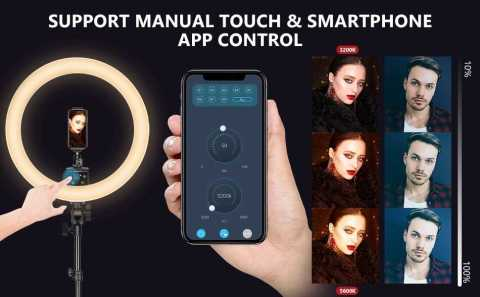 Neewer APP Control LED Ring Light - Neewer APP Control 16-inch LED Ring Light Amazon Coupon Promo Code