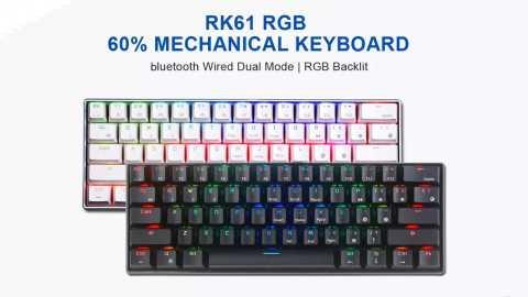 Royal Kludge RK61 - Royal Kludge RK61 60% Mechanical Gaming Keyboard Banggood Coupon Promo Code