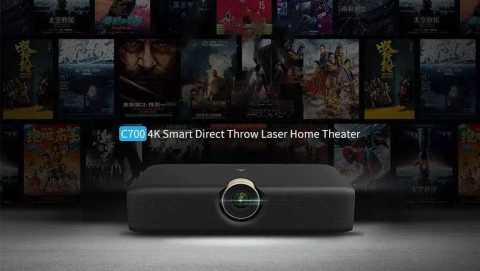 wemax c700 4k direct throw laser projector