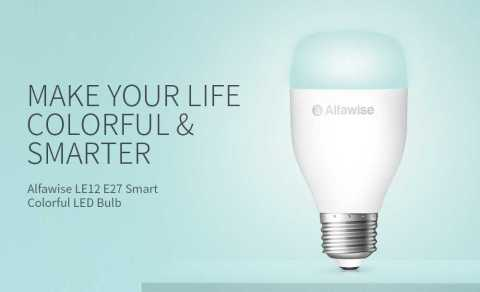 Alfawise LE12 smart bulb - Alfawise LE12 E27 Smart Colorful LED Bulb Gearbest Coupon Promo Code