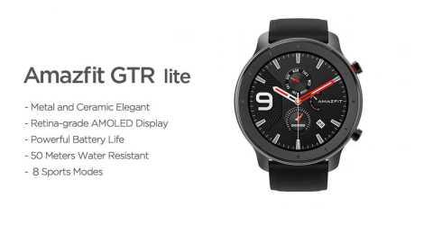 Amazfit GTR Lite - Amazfit GTR Lite Smartwatch Gearbest Coupon Promo Code [47mm]