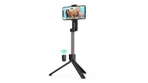 BlitzWolf BW-BS2 Bluetooth Selfie Stick Banggood Coupon Promo Code