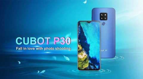 CUBOT P30 - CUBOT P30 Gearbest Coupon Promo Code [4+64GB]