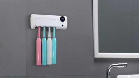 xiaomi jujiajia smart induction uv toothbrush sterilizer
