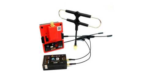 FrSky R9M 2019 Transmitter Module with Mounted Super 8 Antenna