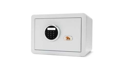 TIGERKING E25LK Digital Safe Box - TIGERKING E25LK Digital Safe Box Amazon Coupon Promo Code [White]