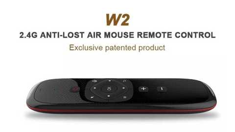 Wechip W2 Air Mouse 1 - Wechip W2 Air Mouse Banggood Coupon Promo Code [Russian Keyboard]