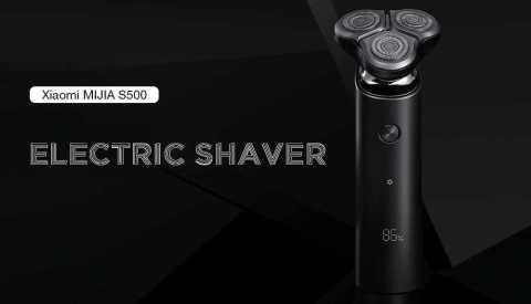 xiaomi mijia s500 electric shaver