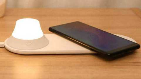 Yeelight Wireless Charger with LED Night Light - Yeelight Wireless Charger with LED Night Light Banggood Coupon Promo Code [Czech Warehouse]