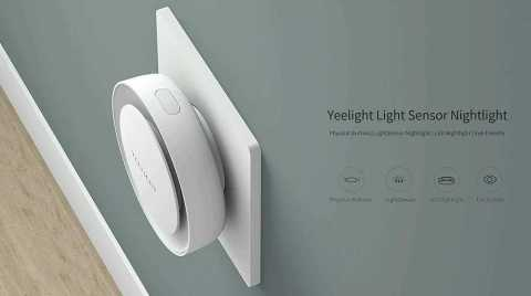 xiaomi yeelight ylyd11yl light sensor nightlight