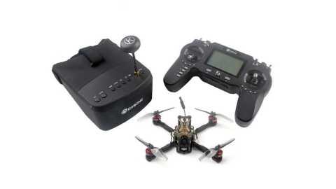 eachine novice-iii 135mm 2-3s 3 inch fpv racing drone