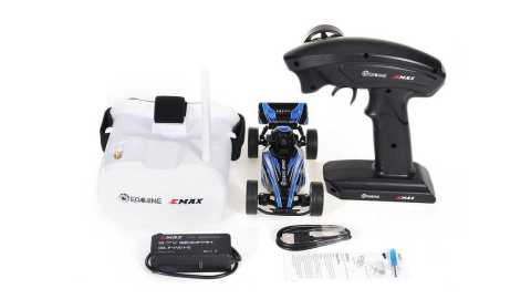 eachine & emax eat03 1/24 fpv rc car with goggles