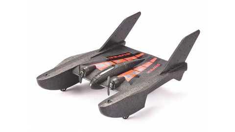 fx815 sea-land-air 3 in 1 hydro-foam glider rc airplane