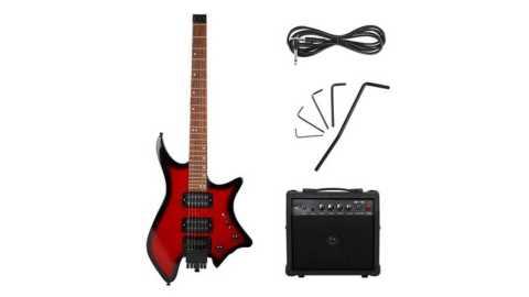 IRIN R 700 guitar set - IRIN R-700 Headless Electric Guitar Set Banggood Coupon Promo Code