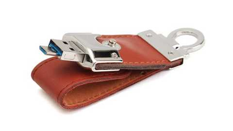 leather micro usb2.0 flash drive u disk