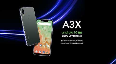 UMIDIGI A3X - UMIDIGI A3X Banggood Coupon Promo Code [3+16GB]