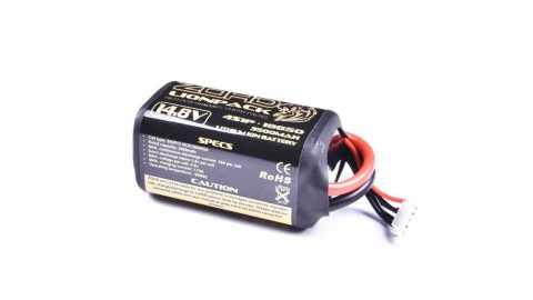 zohd lionpack 14.8v 4s1p 3500mah 18650 li-ion lipo battery