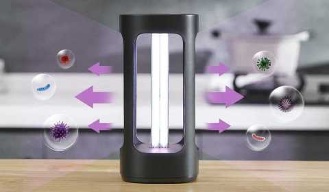 xiaomi five smart uvc disinfection lamp