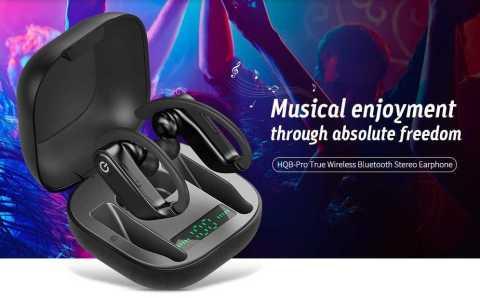 hqb-pro true wireless in-ear stereo earphones