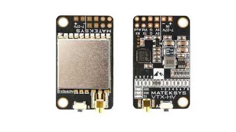 matek 5.8g switchable video transmitter vtx-hv with 5v/1a bec output
