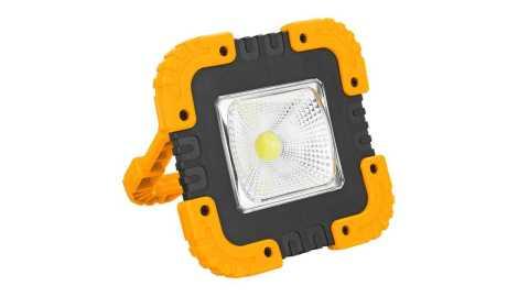 portable 50w 1000lm solar cob led work light