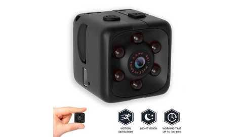 SQ11 Black camera - SQ11 Black HD Night Vision Sports Camera Gearbest Coupon