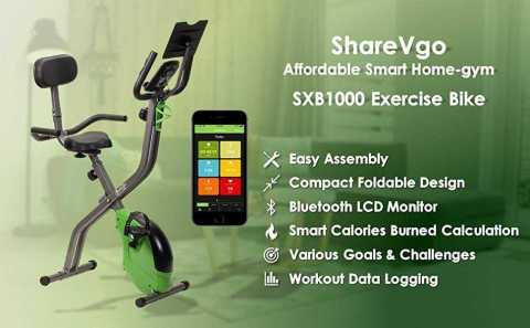 ShareVgo SXB1000 Exercise Bike - ShareVgo SXB1000 Exercise Bike Amazon Coupon Promo Code