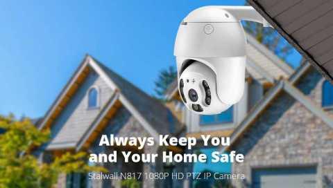 stalwall n817 1080p hd ptz ip camera
