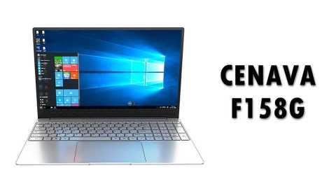 CENAVA F158G - CENAVA F158G Notebook Banggood Coupon Promo Code [i7-6560U 8+256GB SSD]