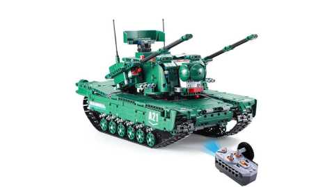 CaDA C61001 - CaDA C61001 1/20 DIY Building Block RC M1A2 Tank Banggood Coupon Promo Code