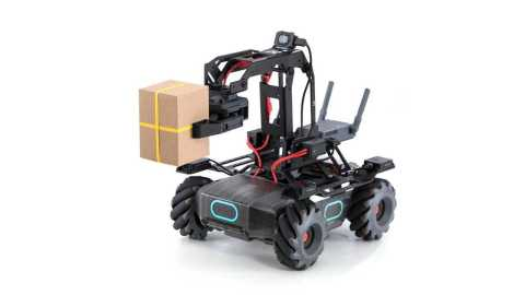 dji robomaster ep smart rc robot arm