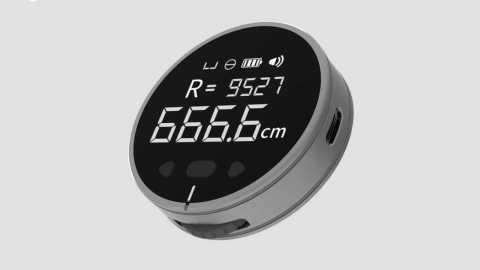 DUKA Little Q Electronic Ruler - Xiaomi DUKA Little Q Electronic Ruler Banggood Coupon Promo Code [Spain Warehouse]