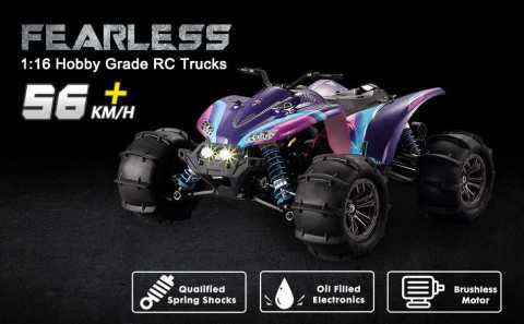 GP TOYS Fearless - GP TOYS Fearless 1/16 RC High Speed ATV Amazon Coupon Promo Code