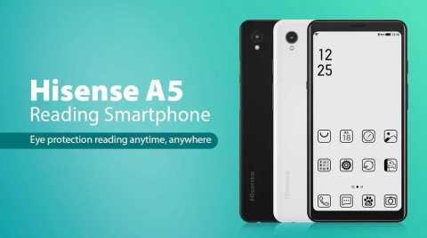 hisense a5 4g reading smartphone