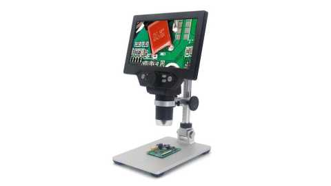 MUSTOOL G1200 - MUSTOOL G1200 Digital Microscope 12MP 1-1200X Banggood Coupon Promo Code [UK Warehouse]