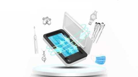 multi-function mask mobile phone uv sterilizer