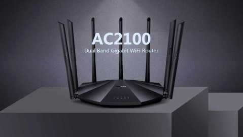 Tenda AC23 - Tenda AC2100 Dual Gigabit WiFi Router Banggood Coupon Promo Code [Australia Warehouse]