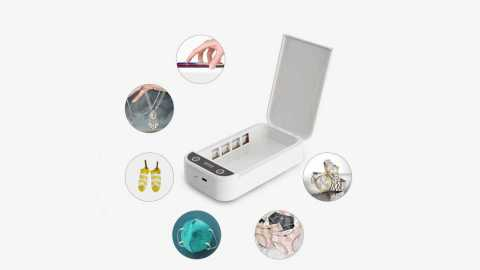 xiaodu xd911uv mobile phone sterilizer